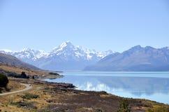 Wakatipu lake landscape in NZ. Royalty Free Stock Photography