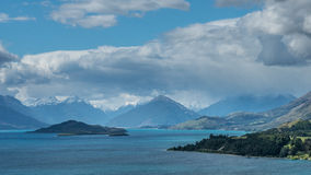 Wakatipu lake, New Zealand. Royalty Free Stock Photo