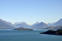 Wakatipu lake in New Zealand. Stock Images