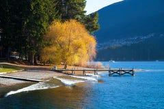 Free Wakatipu Lake Queens Town New Zealand Stock Image - 25872731