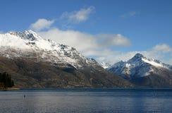 Wakatipu van het meer - Nieuw Zeeland Stock Afbeelding