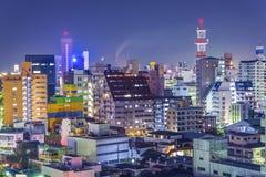 Wakayama, εικονική παράσταση πόλης της Ιαπωνίας Στοκ εικόνες με δικαίωμα ελεύθερης χρήσης