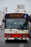 Η παύση λεωφορείων περιμένει τους ανθρώπους στη στάση λεωφορείου σε Wakayama, Ιαπωνία Στοκ Εικόνες