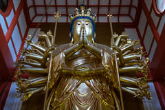 Wakayama Bouddha d'or photos libres de droits