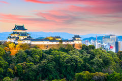 Wakayama Castle in Japan Royalty Free Stock Photo