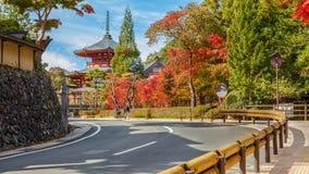 Wakayama, Japan - October 29 2014: Jofuku-in is a small temple t Stock Photography