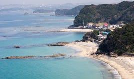 Wakayama kustlinje Royaltyfria Bilder