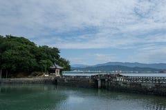 Wakayama kustlinje Arkivfoton