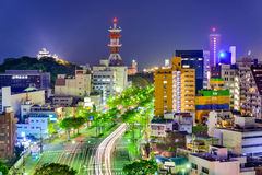 Wakayama stad royaltyfri foto