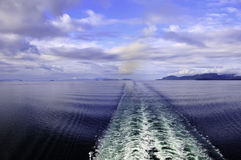 Free Wake Behind A Ship Royalty Free Stock Photos - 20261108