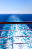 Wake from cruise liner Royalty Free Stock Images