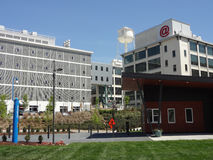 Wake Forest Innovation Quarter in Winston-Salem, North Carolina (NC) Stock Photo