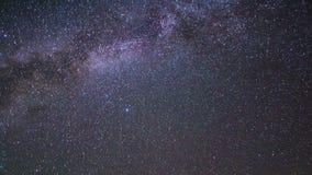 In the wake of the Milky Way. Pamir, Tajikistan. stock video