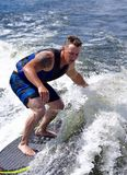 Wake Surfing stock photography