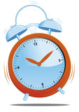 Wake up. Vector illustration Alarm clock ringing Vector Illustration