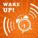 Wake up alarm Royalty Free Stock Images