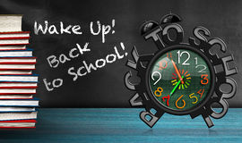 Wake Up - Back To School Royalty Free Stock Photos