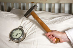 Wake up Call Royalty Free Stock Images