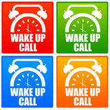 Wake up call Stock Photography