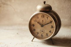 Wake-up clock. Old vintage wake-up clock royalty free stock images