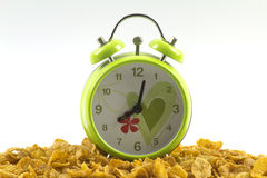 Wake up with cornflakes Royalty Free Stock Photos