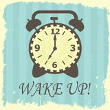 Wake up! Royalty Free Stock Photography