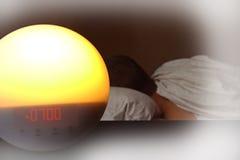 Wake-up light Royalty Free Stock Photo