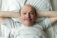 Wake up in the morning in a good mood Royalty Free Stock Image
