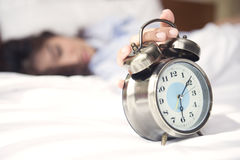 Wake up, it's time to start preparing for a new day. Stock Photography