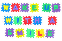 Wake up with a smile Royalty Free Stock Photo