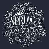 Wake up Spring is coming. Stock Images