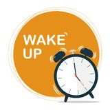 Wake up sun circle vector stock photo