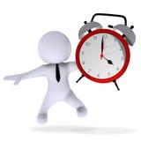 Wake up, Sun Rise, Conscious, Alarm, Clock, Alarm clock, Alarmin. High Class rendered figure for perfect message transportation Royalty Free Stock Photo