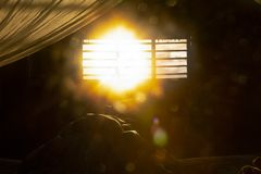 Wake up the sun royalty free stock photography