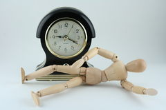 Wake up on time royalty free stock photography