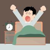 Wake up. To work very boring Royalty Free Stock Photos