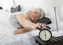 Wake up woman Royalty Free Stock Photos
