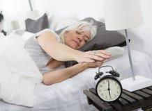 Wake up woman stock photography