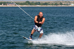 Wakeboard. Royalty Free Stock Photography