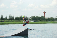 Wakeboard Immagine Stock