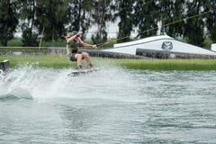 Wakeboard akci sporty fotografia stock