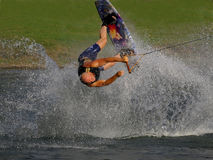 Wakeboard feature Stock Photography