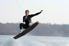 Wakeboard Jump Royalty Free Stock Photos