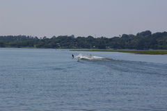 Wakeboard radical on sunny day Stock Photography