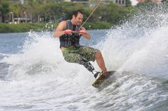 WAKEBOARD stock photography
