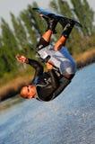 wakeboard somersault Стоковое Изображение