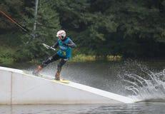 Wakeboard Tournament Royalty Free Stock Photos