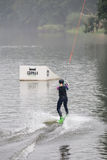 Wakeboard Tournament Royalty Free Stock Photography