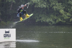 Wakeboard Tournament Stock Photo