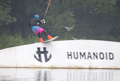 Wakeboard Tournament Royalty Free Stock Image